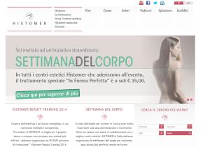 Histomer homepage sito